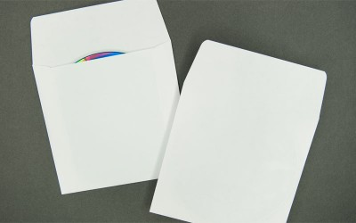 CD/DVD Envelope - Plain White with Flap - Paper