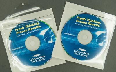 CD/DVD Envelope - Vinyl - Mountable