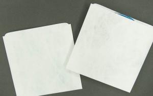 CD/DVD Sleeve - Plain White - Tyvek<span class=