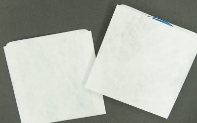 CD/DVD Sleeve - Plain White - Tyvek®