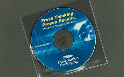 CD/DVD Sleeve - Clear - Vinyl