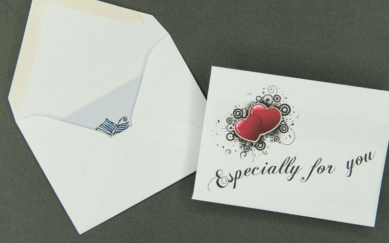 gift card envelope - especially for you archives