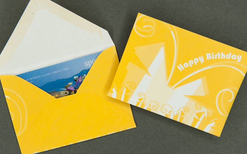Gift Card Envelope Happy Birthday Yellow Archives Bank Cards