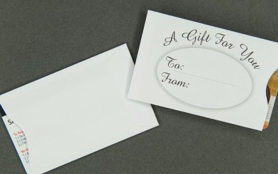 Gift Card Sleeve - A Gift For You