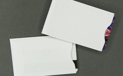 Plain White Card Sleeve - Paper
