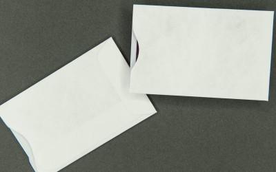 Plain White Card Sleeve - Tyvek®