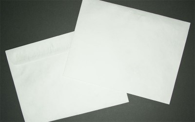 "Large Tyvek® Mailing Envelope - Plain White - Open Side - 10"" x 13"""
