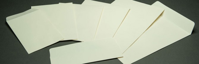 Archival Storage Envelopes