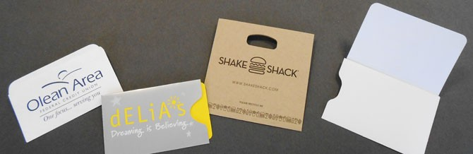 Information Packaging Corporation - Gift Card Sleeve