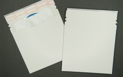 """CD/DVD Mailer - Paperboard - White - 5 3/4"""" x 6 3/8"""""""