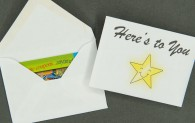Gift Card Envelope - Here's to You
