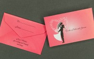 Mini Gift Card Envelope - Wedding