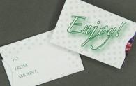 Gift Card Sleeve - Enjoy