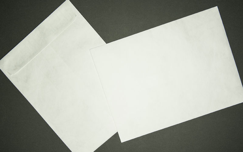 "Large Tyvek® Mailing Envelope - Plain White - Open End - 10"" x 13"""