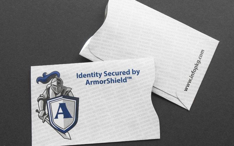 Armorshield rfid blocking card sleeves choose from our 5 or 10 armorshield rfid blocking card sleeve colourmoves