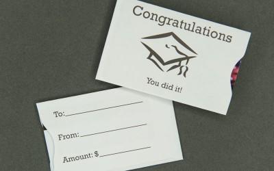 Gift Card Sleeve - Congratulations Graduate