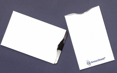 ArmorShield® RFID Blocking Card Sleeve - White