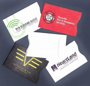 Custom Envelope Solutions RFID Card Sleeves
