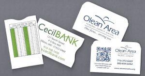 credit card sleeve