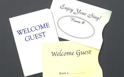 Hotel Key Card Sleeves