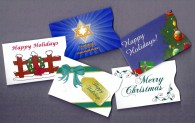 Holiday Gift Card Sleeves