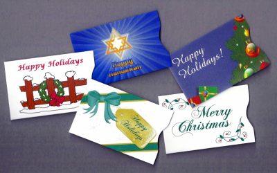 Holiday Gift Card Sleeves