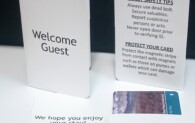 Welcome Guest Easy Check-In Key Card Holder